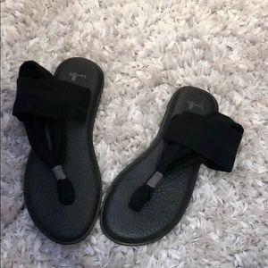 Sanuk Yoga Sling Sandals- Size 8
